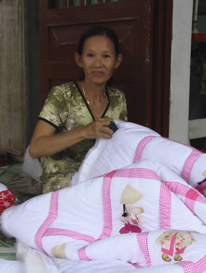 Quilter in Dúc Linh