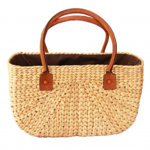 Kelly linen bag (M)-0