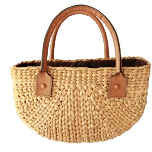 Kelly linen bag (S)-0