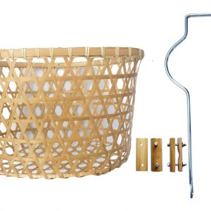 Basket for City bike with accessories-0