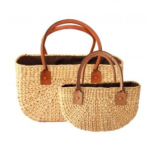 Kelly linen bag (M)+(S)-0