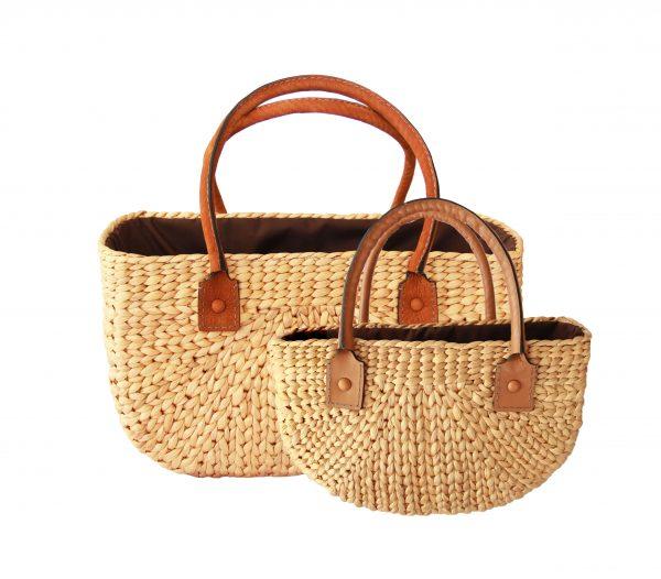 Kelly linen bag (M)+(S)-0