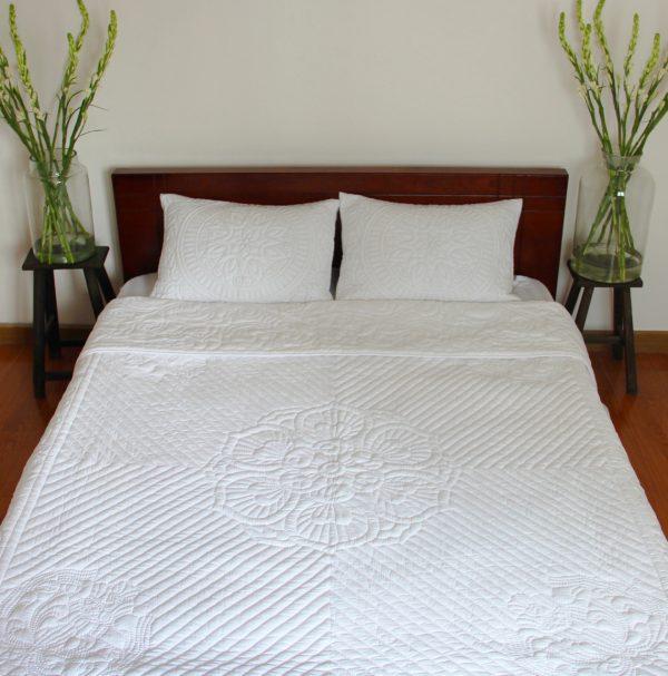 Lotus Quilt (King size)-778