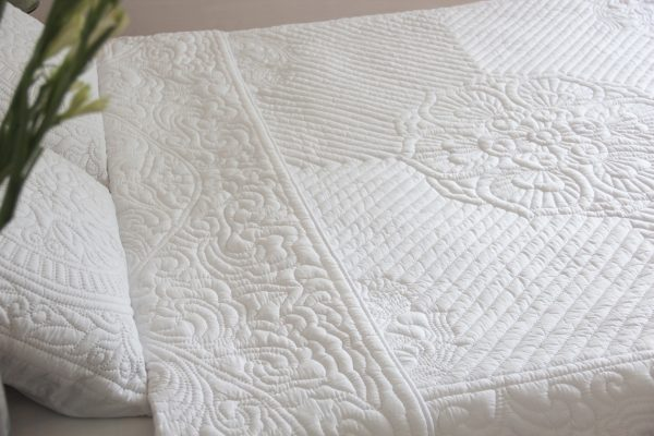 Lotus Quilt (King size)-776