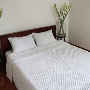 Lotus Quilt (King size)-0