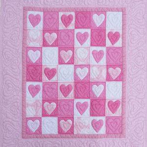 Heart Baby Quilt-0