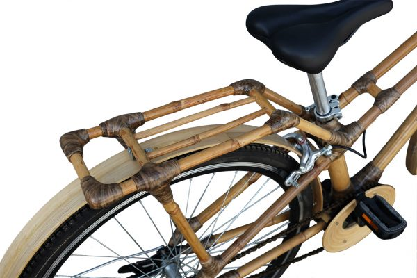 City Bike with rear rack-876