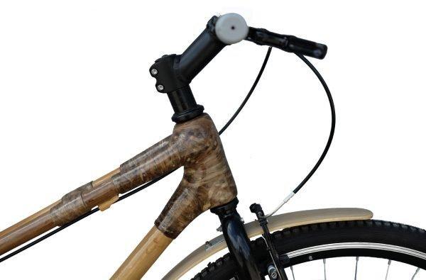 City Bike with rear rack-877