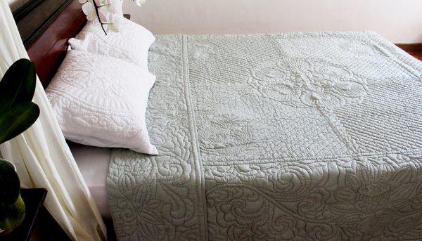 Lotus Quilt (Queen size)-960