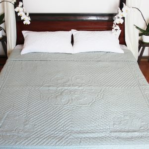 Lotus Quilt (Queen size)-0
