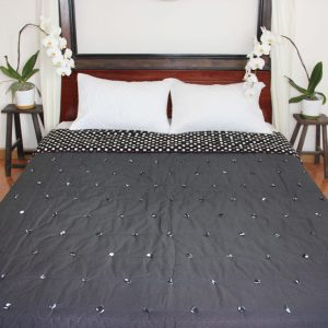 Circle Pinpoint Quilt (Queen size) -0