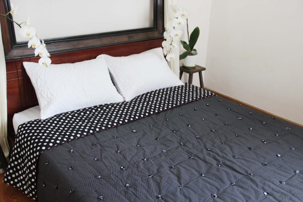 Circle Pinpoint Quilt (Queen size) -990
