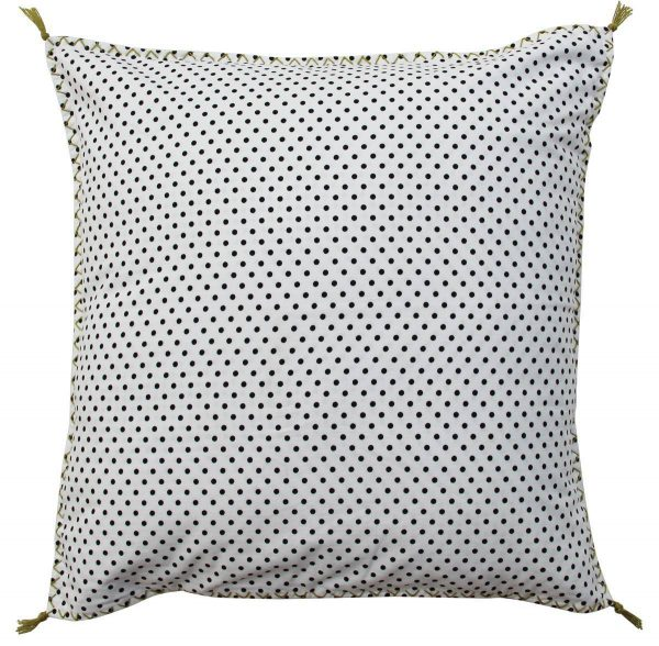 BW -checks cushion 50x50 cm-0