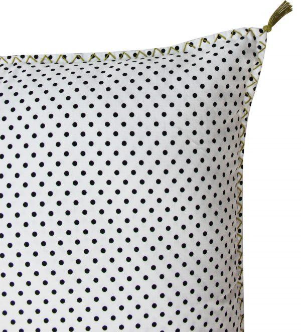 BW -checks cushion 50x50 cm-1030