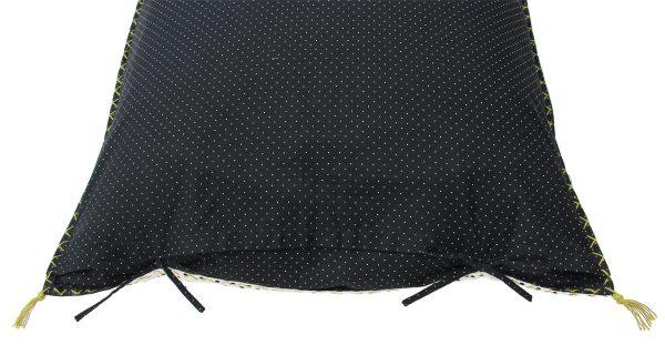 BW -checks cushion 50x50 cm-1031