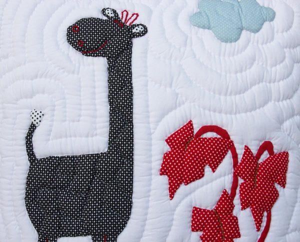 Giraffe Cushion 50x50 cm-1037