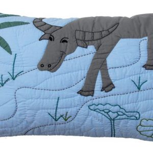 Water Buffalo Cushion 55x35 cm-0