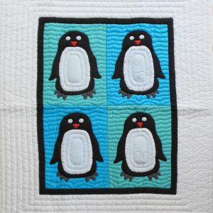 Penguin Baby Quilt-0