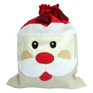 Santa Claus - drawstring bag-0