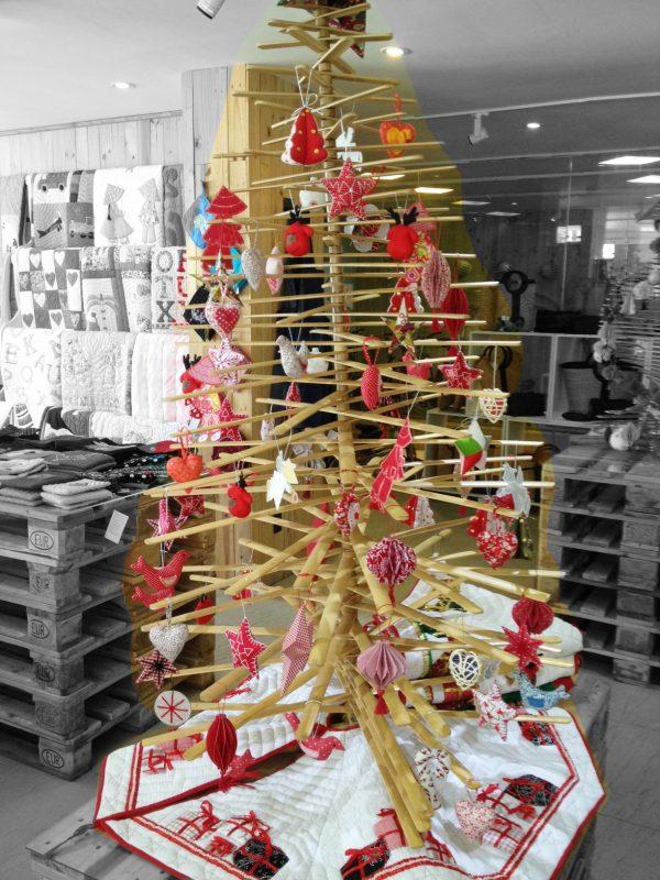 Xmas Bamboo Tree Small Size-1712