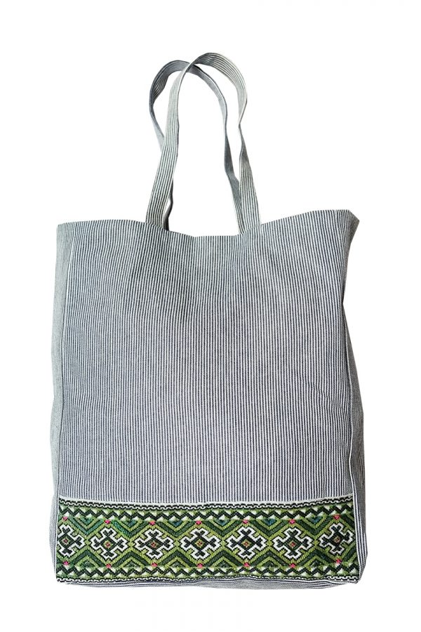 Sapa Denim Tote Bag-0